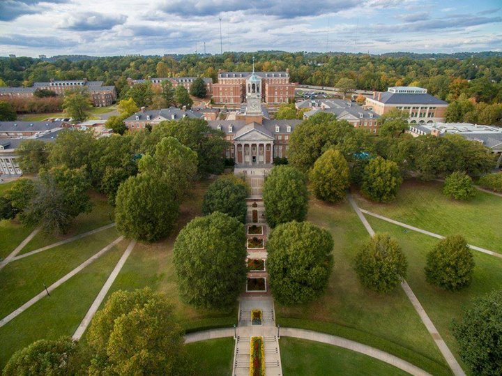 Samford University cover