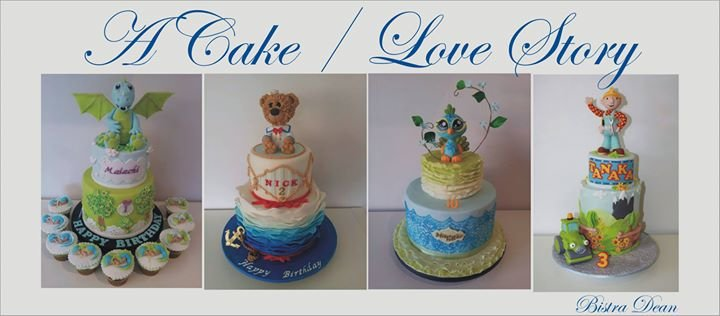 Bistra Dean - cakes cover