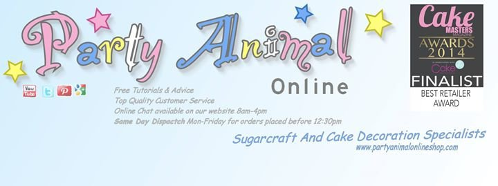 Party Animal Online Sugarcraft Supplies cover