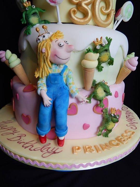 Elizabeth Miles Cake Design cover