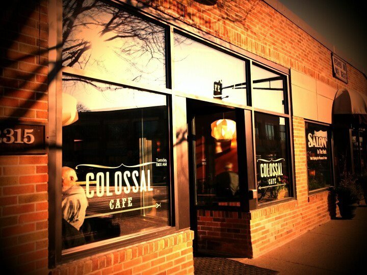 Colossal Cafe cover