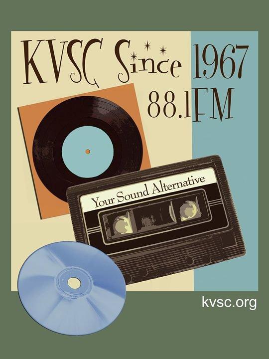 KVSC - 88.1 FM cover