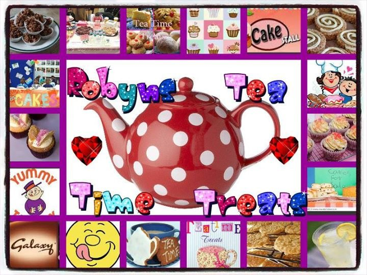 Robyn's Tea-Time Treats cover