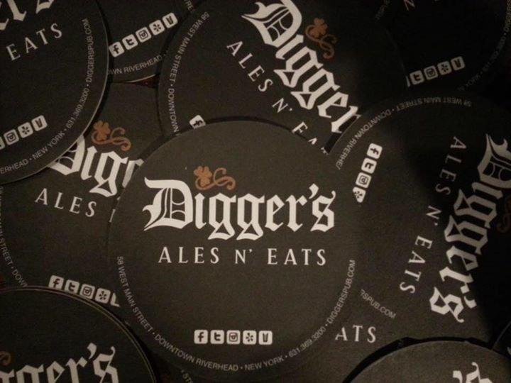 Digger's Ales N' Eats cover