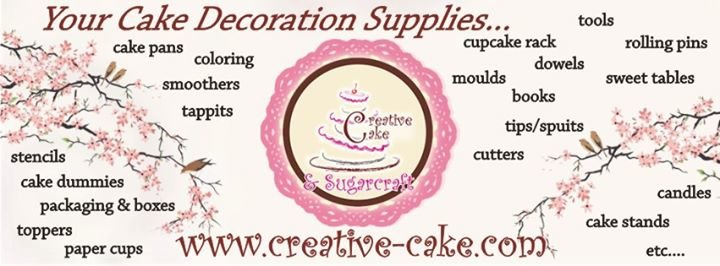Creative Cake & Sugarcraft cover
