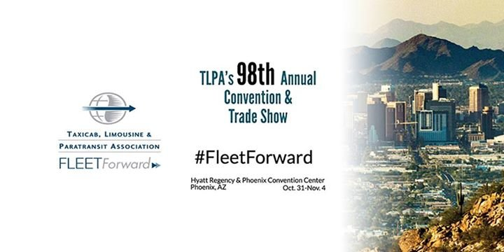Taxicab, Limousine & Paratransit Association (TLPA) cover
