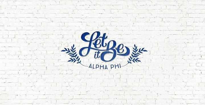 Alpha Phi at UNK - Delta Xi chapter cover