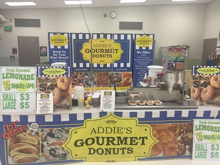 Addie's Gourmet Mini Donuts cover