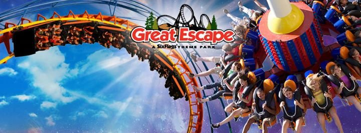 The Great Escape and Splashwater Kingdom cover