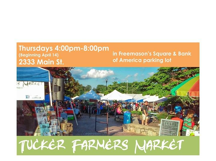 Tucker Farmers Market cover