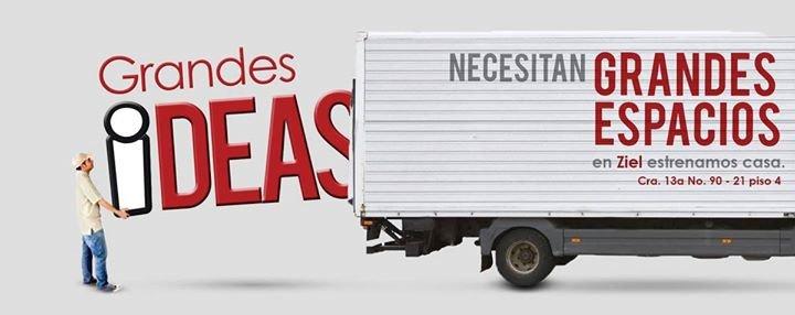 """ZIEL """"Cómplices de buenas ideas"""" cover"""