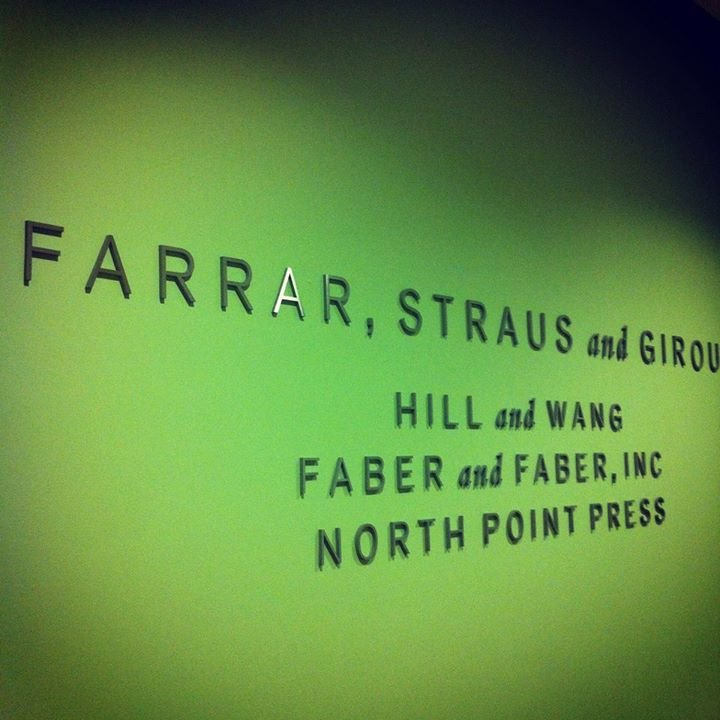 Farrar, Straus and Giroux cover