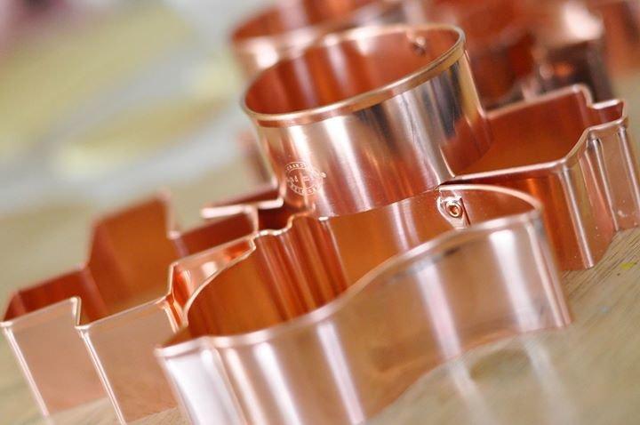 ecrandal handmade copper cookie cutters cover