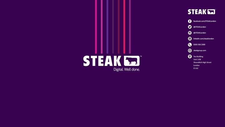 STEAK London cover