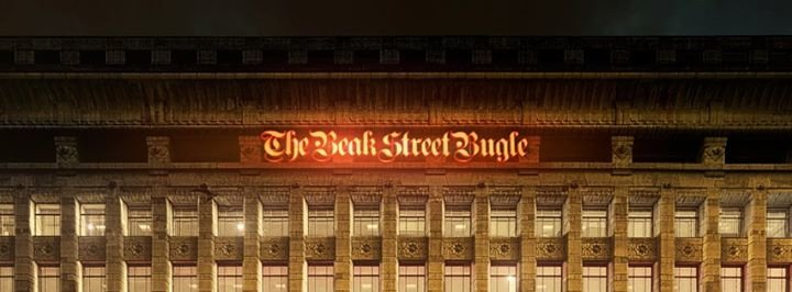 The Beak Street Bugle cover