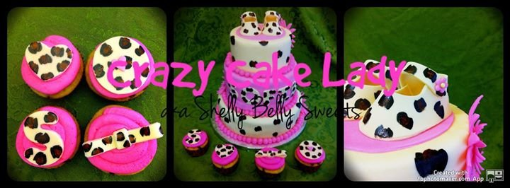 "Shelly Belly Sweets ""The Crazy Cake Lady"" cover"
