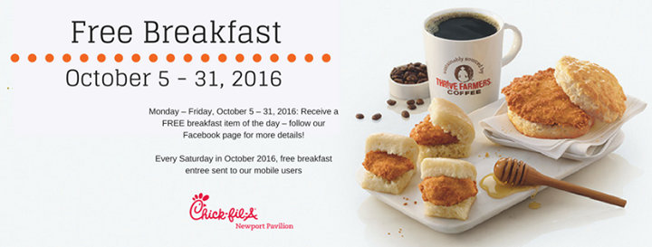 Chick fil A at Newport Pavilion cover