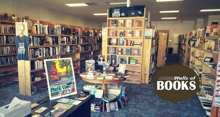 Walls of Books - Washington, DC cover