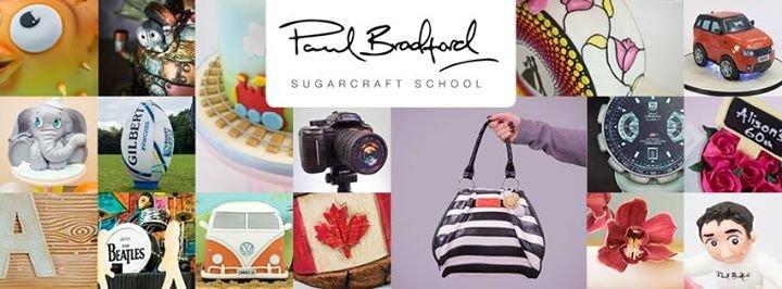 Paul Bradford Sugarcraft School cover