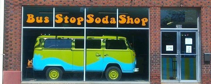 The Bus Stop Soda Shop cover