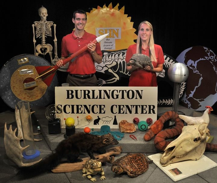 Burlington Science Center cover