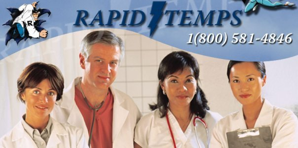 Rapid Temps Medical Staffing cover