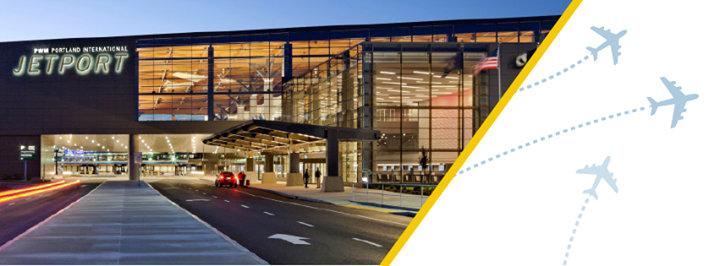 Portland International Jetport-Maine cover