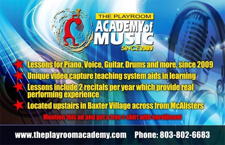 The Playroom Academy of Music cover