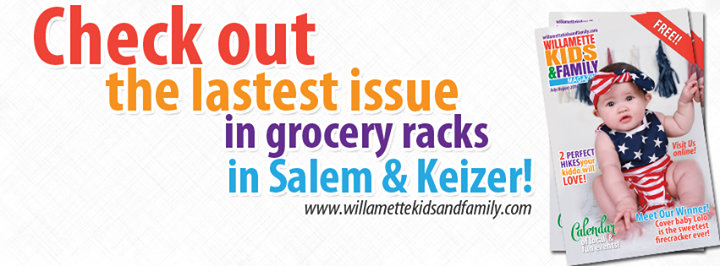 Willamette Kids and Family Magazine cover