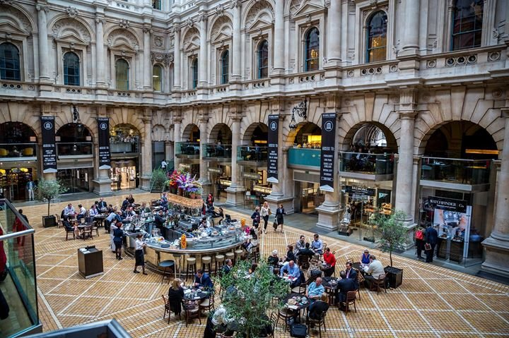 Royal Exchange Grand Café and Sauterelle cover