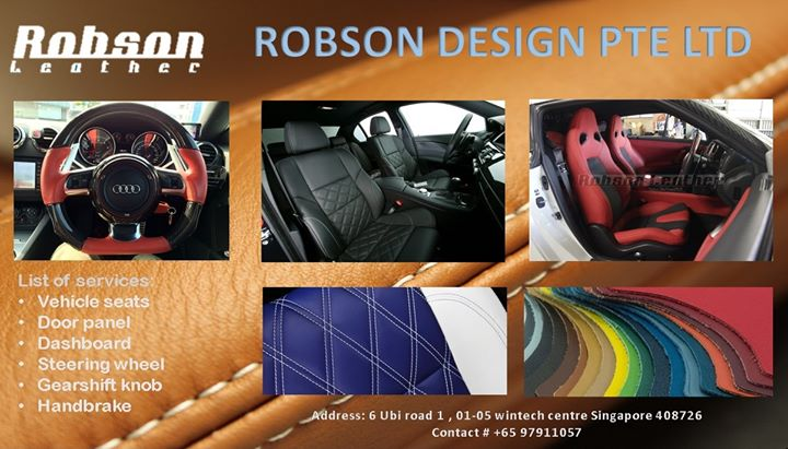 ROBSON DESIGN PTE LTD cover