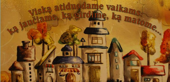 """Mažeikių lopšelis - darželis """"Pasaka"""" cover"""