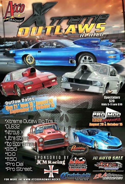 Atco Dragway cover