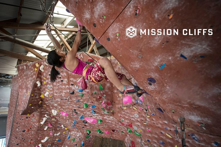 Mission Cliffs Indoor Rock Climbing Gym cover