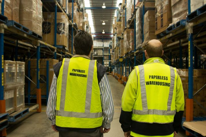 Paperless Warehousing Group cover
