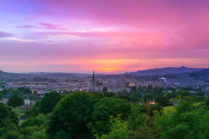 National Trust in Bath - Prior Park and Bath Skyline cover