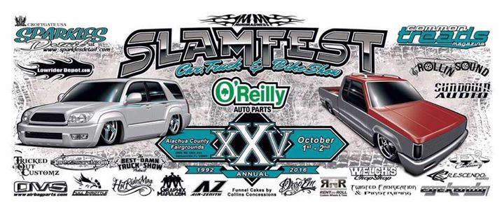 Slamfest Car And Truck Show Tampa United States - Florida state fairgrounds car show