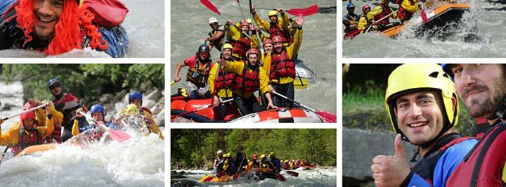 Rafting Mont Blanc cover