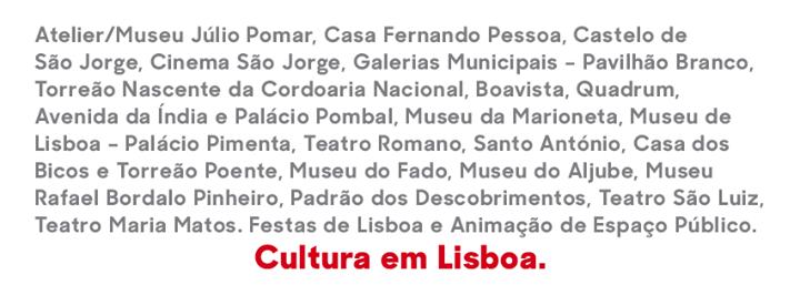 EGEAC Cultura em Lisboa cover