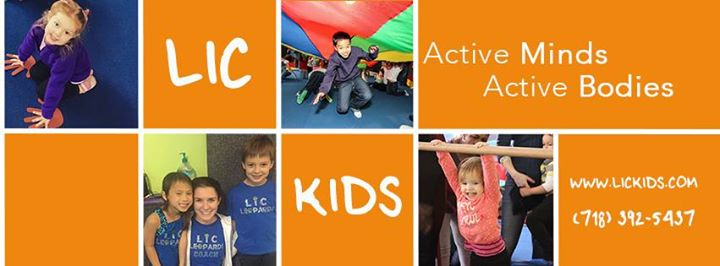 LIC Kids Gymnastics cover