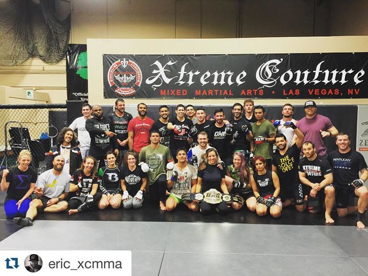 Xtreme Couture MMA cover