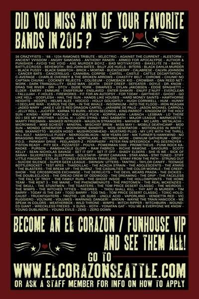 El Corazon cover