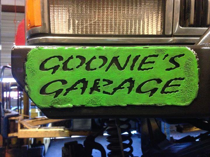 Goonie's Garage cover