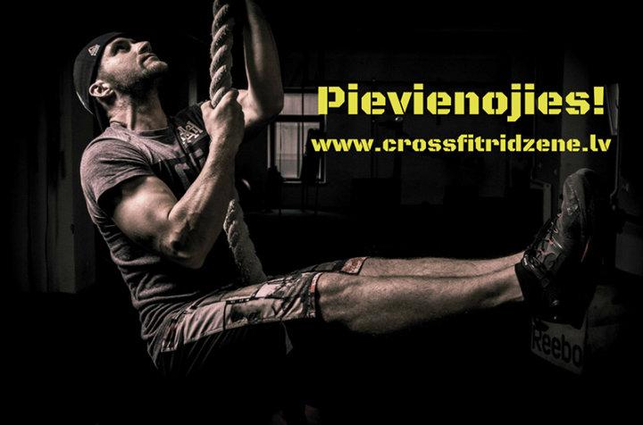 CrossFit Rīdzene cover