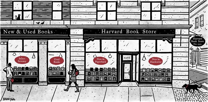 Harvard Book Store cover