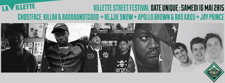 Villette Street Festival cover