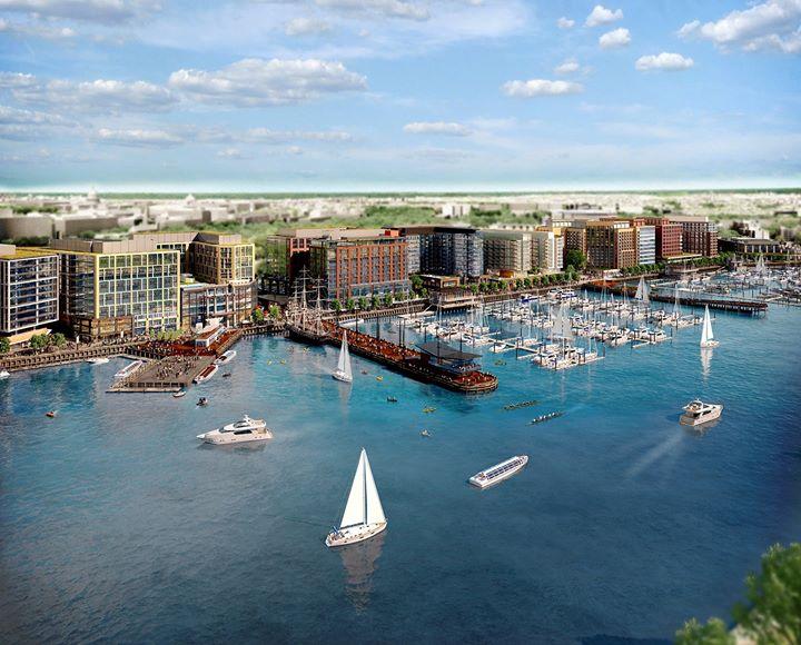 Wharf DC cover