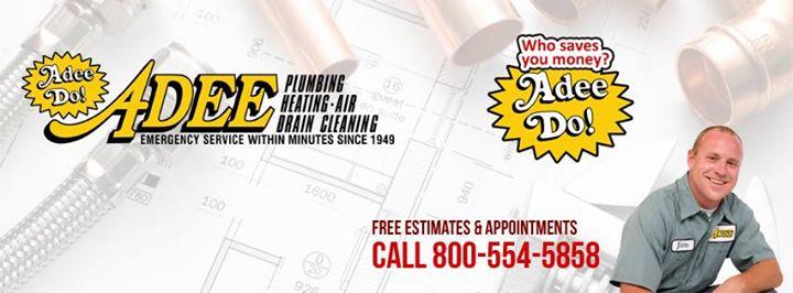 Adeedo! Drains, Plumbing, Heating, AC, Electrical cover