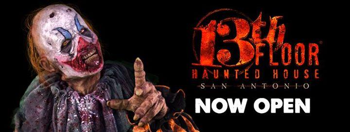13th Floor Haunted House San Antonio cover