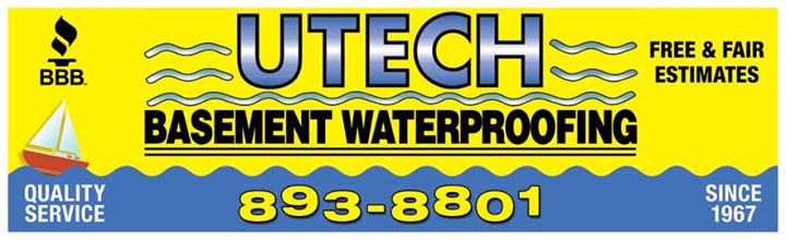 UTECH Basement Waterproofing Cover